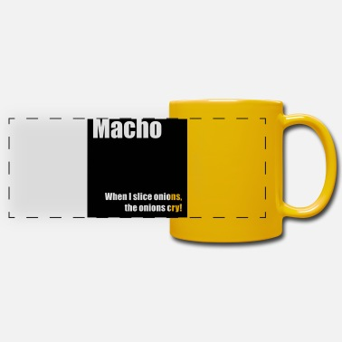 Macho Macho - Mug panoramique