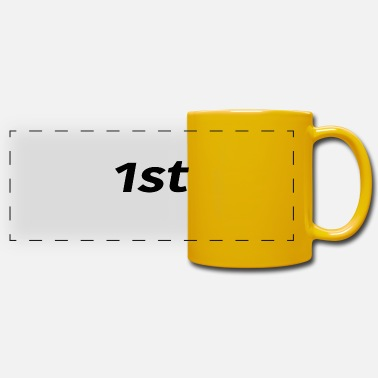 First 1st First First - Panoramic Mug