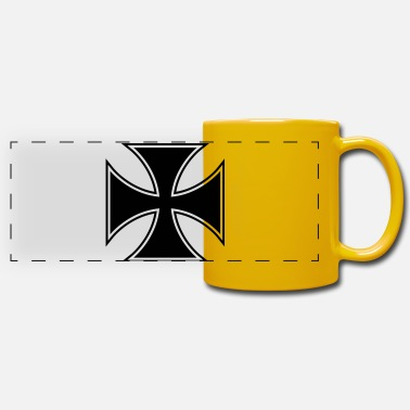 Cross Pattee Cross pattee keyline - Panoramic Mug