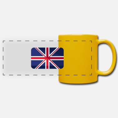 Britain Great Britain Flag Great Britain - Panoramic Mug