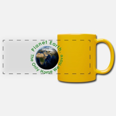 Planet Planet Earth - Mug panoramique