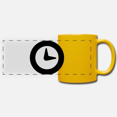 Clock clock - Mug panoramique