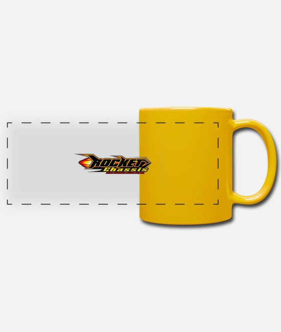 Insignia Mugs & Drinkware - Missile chassis - Panoramic Mug sun yellow