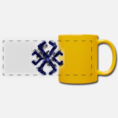 Libra Symbol Astrology Astrological Line SymbolSymbol; A - Panoramic Mug