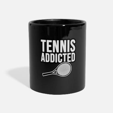 Elite Tennis Addicted. Tennis Addict - Panoramic Mug