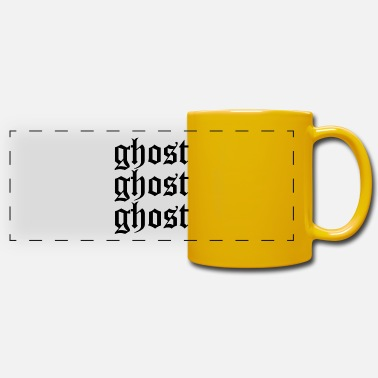 Ghost Ghost ghost ghost - Panoramic Mug