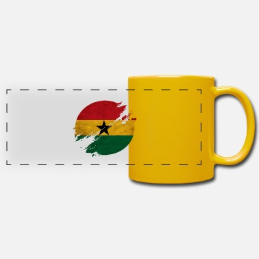 Kumasi Ghana district - Panoramic Mug