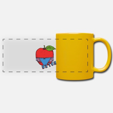 Healthy Underwear Apple Thong Underwear Bitch Funny Sexy - Panoramic Mug