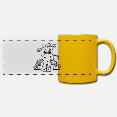 Kids Picture Children's shirt white with funny animal motif - Panoramic Mug