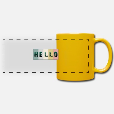 Hello Hello hello - Panoramic Mug