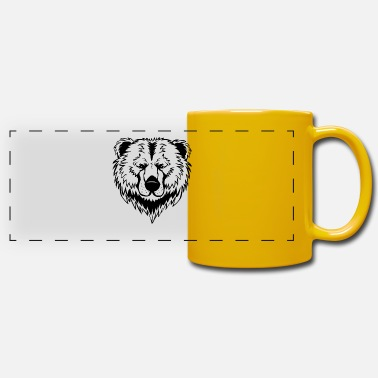 Bear Face Bear face - Panoramic Mug