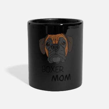 Boxer Conception de chien Boxer Mom Boxer - Mug panoramique
