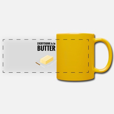 Butter in butter - Panoramic Mug