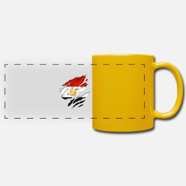Country Flag Football Sport And Arab Art Jesus egypt egyptian egyption - Panoramic Mug