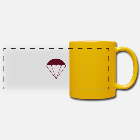 Hang Mugs & Drinkware - Parachute - Panoramic Mug sun yellow