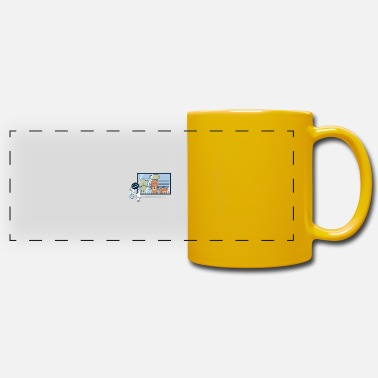 Funny Collection V2 Vegetables Suspect - Panoramic Mug