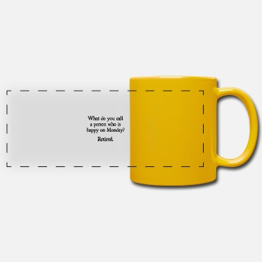 Chefchen Office humor work profession official office gift boss - Panoramic Mug