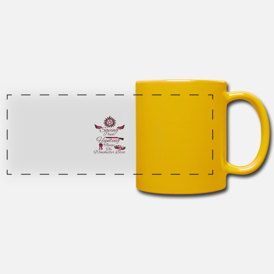 Supernatural Mugs & Drinkware - Supernatural - Panoramic Mug sun yellow