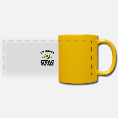 Common Tropical Fruits Cool I'm gonna GUAC your world T-Shirt - Panoramic Mug