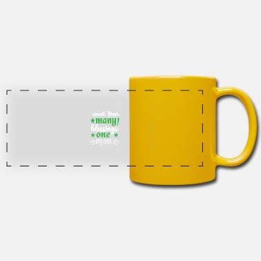 Bless You Count your many blessings one by one Perfect Thank - Panoramic Mug