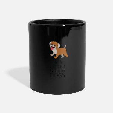 Watchdog The best and most faithful friend - Panoramic Mug