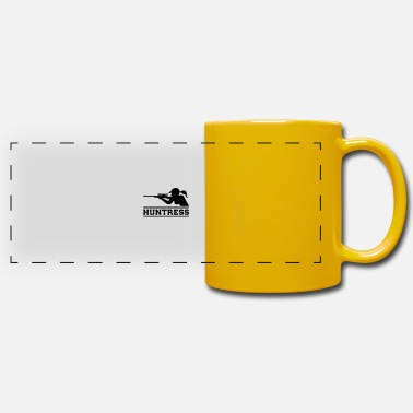 Chasseur chasseuse chasseuse - Mug panoramique