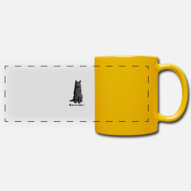 Belgian Shepherd Dog Cute Belgian Shepherd Dog - Panoramic Mug