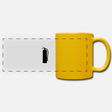 Fire Extinguisher fire extinguisher - Panoramic Mug