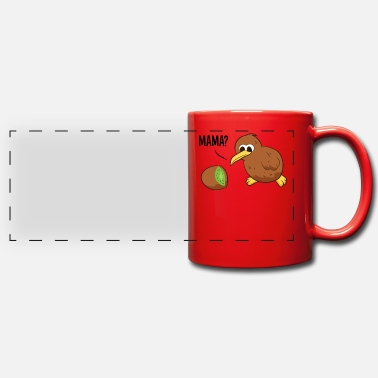 Kiwi Kiwi Bird Kiwi Fruit Kiwi - Panoramic Mug