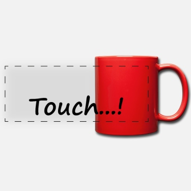 Touch touch - Panoramic Mug