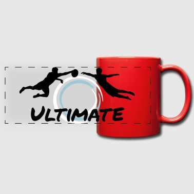 Ultimate Frisbee - Men - Full Color Panoramic Mug