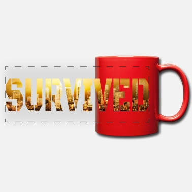 survived - Panoramic Mug