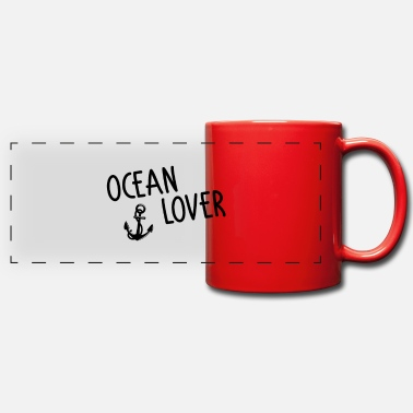 Ocean lover - Panoramic Mug