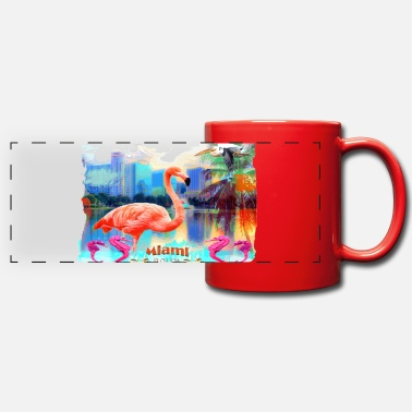 sabinabredmeier Summer of Miami - Panoramic Mug