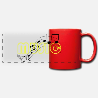 Music Note Music note music notes - Panoramic Mug