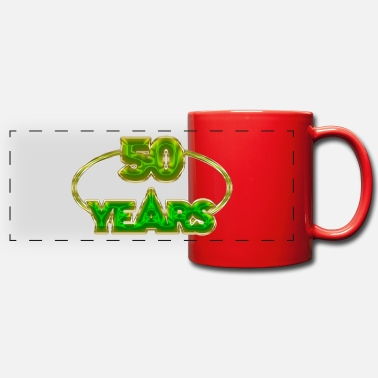 Years 50 Years - 50 years - Panoramic Mug