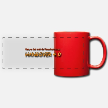 Guys Night Out Hangover 4.0 - Panoramic Mug