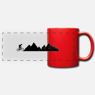 Mountain Bike Mountain Bike Mountain Bike - Tazza panoramica