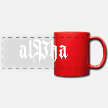 Alpha alpha - Mug panoramique