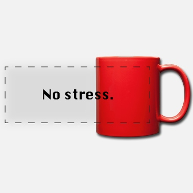 Stress No stress - Panoramic Mug