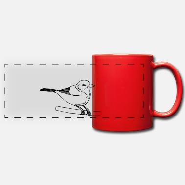 Tit tit - Panoramic Mug
