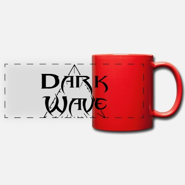 Dark Wave Ola Oscura - Taza panorámica de color