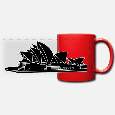 Building &amp Opera House in Syndey 2 - Panoramic Mug