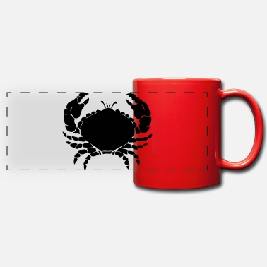 Crabe crab - Mug panoramique