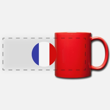 drapeau de la france - Mug panoramique