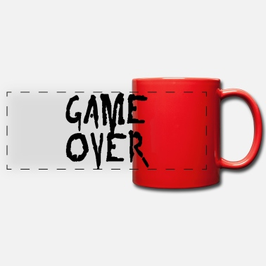 Game Over game over - Panoramic Mug