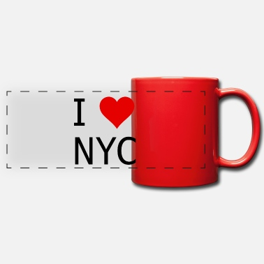 Love Amo New York City - Tazza panoramica