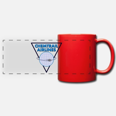 Airline Chemtrail Airlines Pilot - Panoramic Mug
