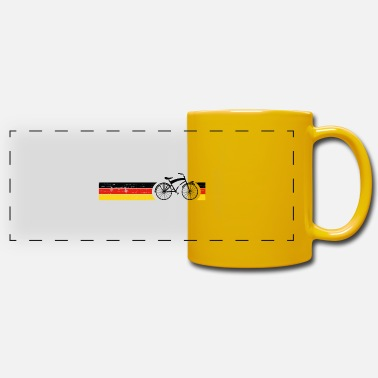 National Cykel nationale farver National Germany Gift - Panoramakrus