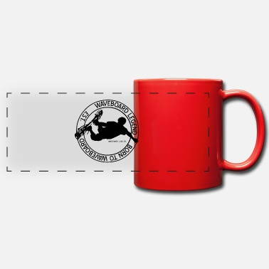 Wave Boarding wave boarding - Panoramic Mug